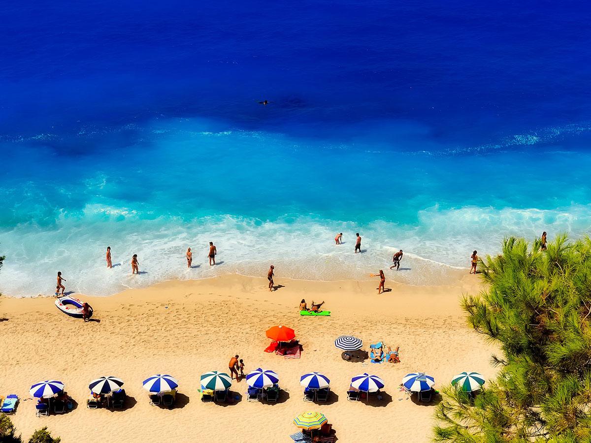 Najkrajšie pláže na ostrove Rhodos
