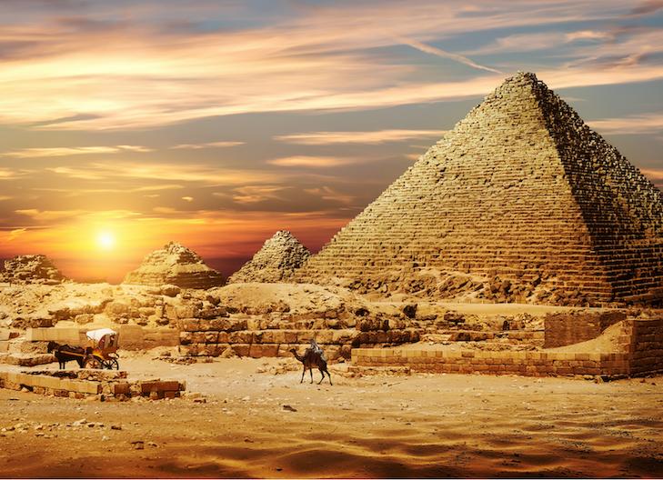 Počasie v Egypte