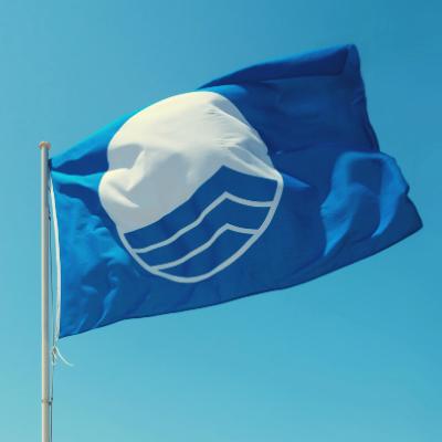 Farby vlajok na plážach
